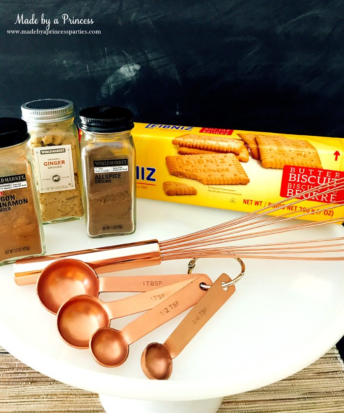 Gingerbread Cheesecake Dessert Recipe products from World Market Made by a Princess #gingerbreadcheesecake