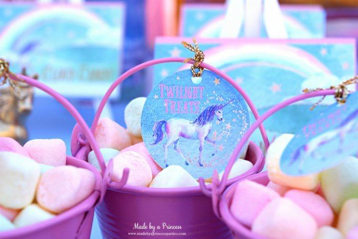 Unicorn Party Ideas Free Printables
