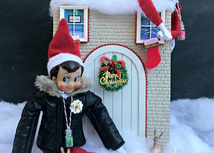 How to Create Your Own Tiny Elf Door Tutorial