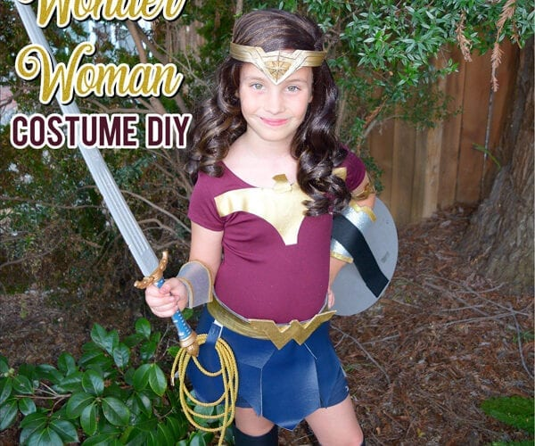 DIY Wonder Woman Halloween Costume