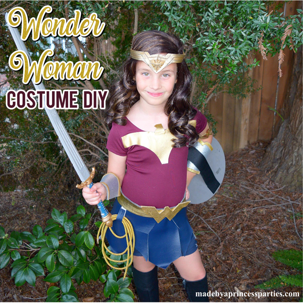 Diy Wonder Woman Movie Halloween Costume Made By A Princess