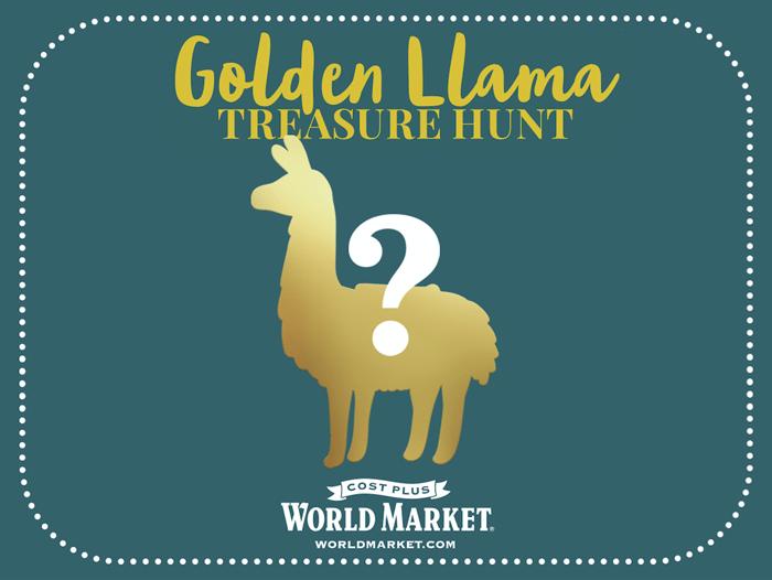 No Drama Llama Holiday Gift Guide Golden Llama Treasure Hunt