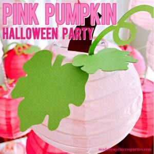 Pink Pumpkin Halloween Party Ideas #pinkparty #pinkoween #pinkpumpkinparty