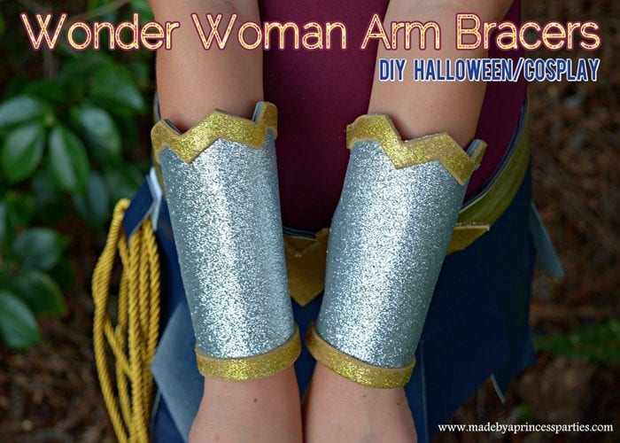 Wonder Woman Movie Arm Bracers Costume DIY