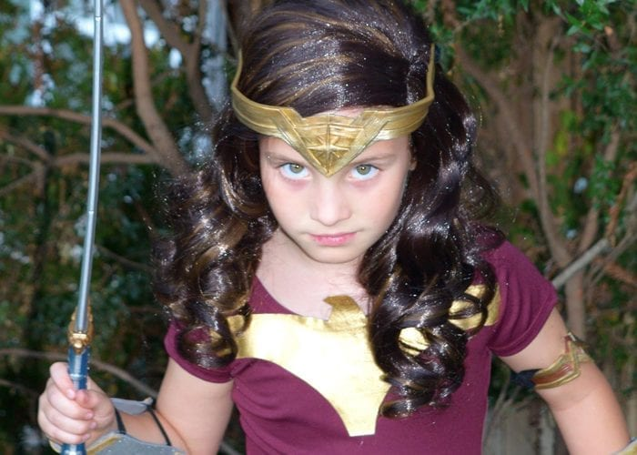 DIY Wonder Woman Movie Halloween Costume