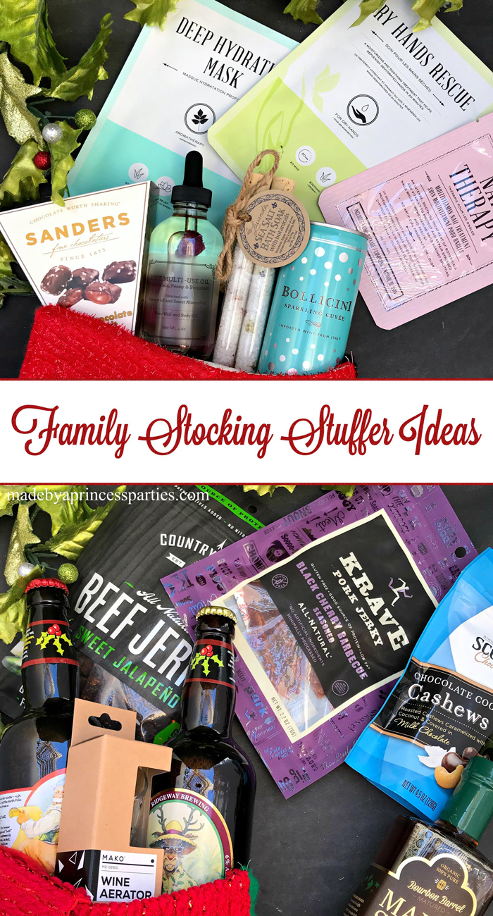 Family Stocking Stuffer Ideas Made By A Princess