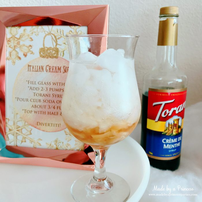 How to Make Italian Cream Soda Party Idea Add Club Soda