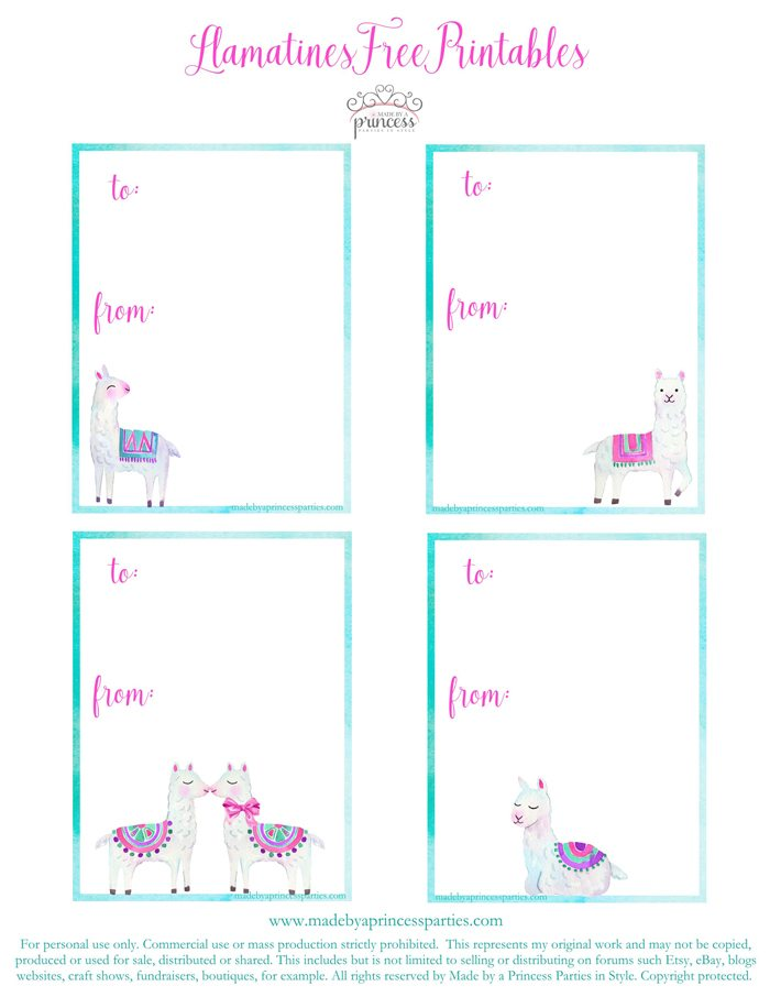 National Llama Day World Market Event Llamatines Back Free Printables MadebyaPrincess #nationalllamaday #llama #llamavalentines