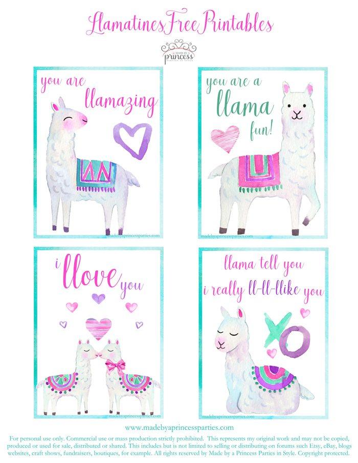 National Llama Day World Market Event Llamatines Free Printables MadebyaPrincess #nationalllamaday #llama #llamavalentines