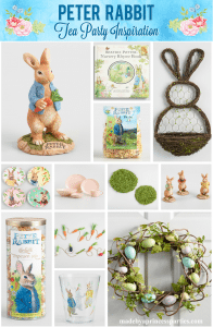Peter Rabbit Tea Party Inspiration