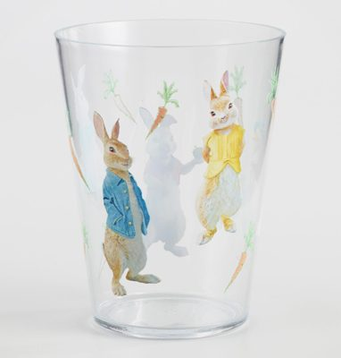 Peter Rabbit Tea Party Inspiration Acrylic Juice Tumblers
