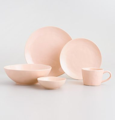Peter Rabbit Tea Party Inspiration Blush Stoneware
