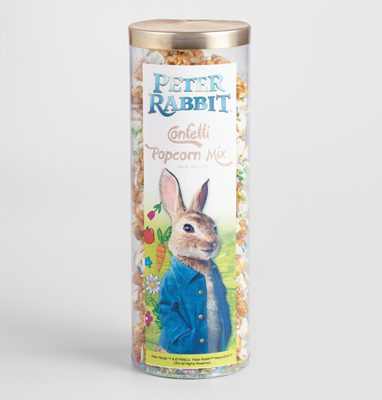 Peter Rabbit Tea Party Inspiration Confetti Popcorn
