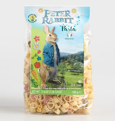 Peter Rabbit Tea Party Inspiration Pasta