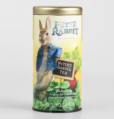 Peter Rabbit Tea Party Inspiration The Republic of Tea Orange Ginger Mint Garden Tea