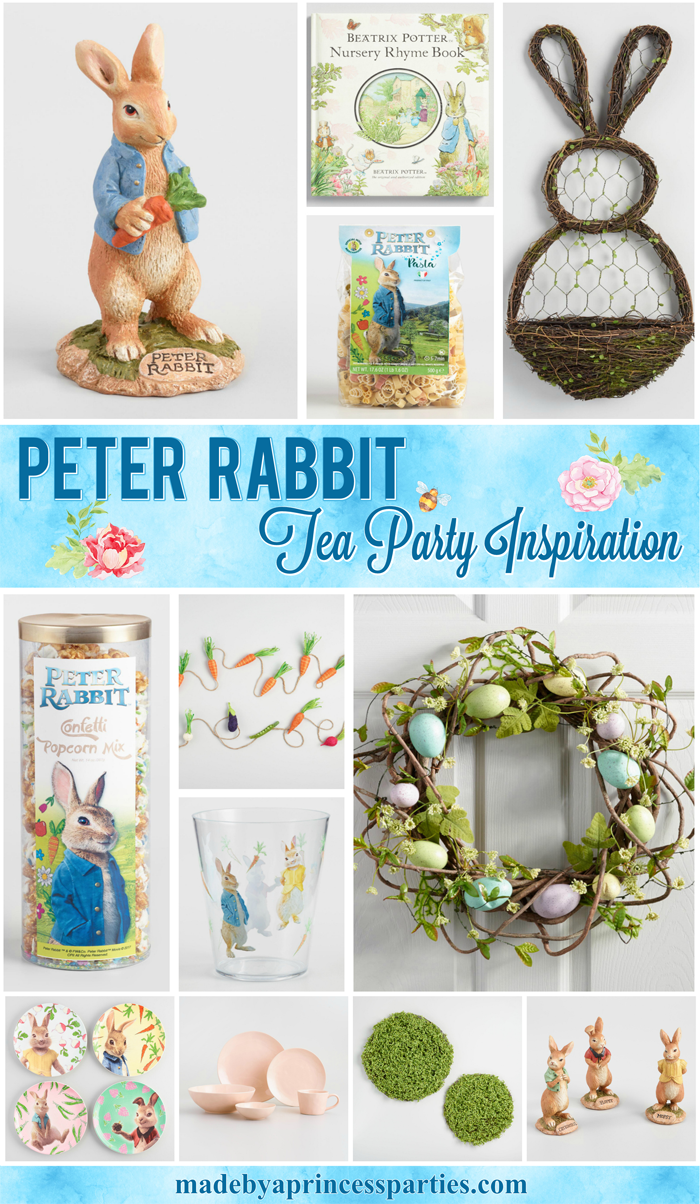 Peter Rabbit Tea Party Inspiration perfect for kids and adults to enjoy