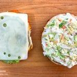 Best Turkey BLT Sandwich Recipe add cheese and cole slaw via @madebyaprincess #turkeysandwich #blt #bltsandwich #bestsandwich #recipe #turkeyblt #madebyaprincess