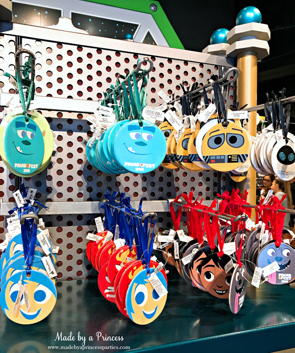 Disneylands Pixar Fest Exclusive Merchandise Christmas Ornaments #pixarfestmerchandise #disneyornaments #pixarfest #madebyaprincess