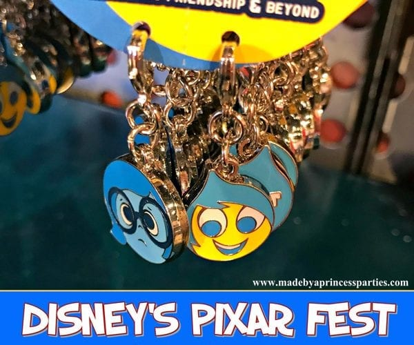 Disneylands Pixar Fest Exclusive Merchandise Inside Out Charms #pixarfestmerchandise #insideoutcharms #pixarfest @madebyaprincess