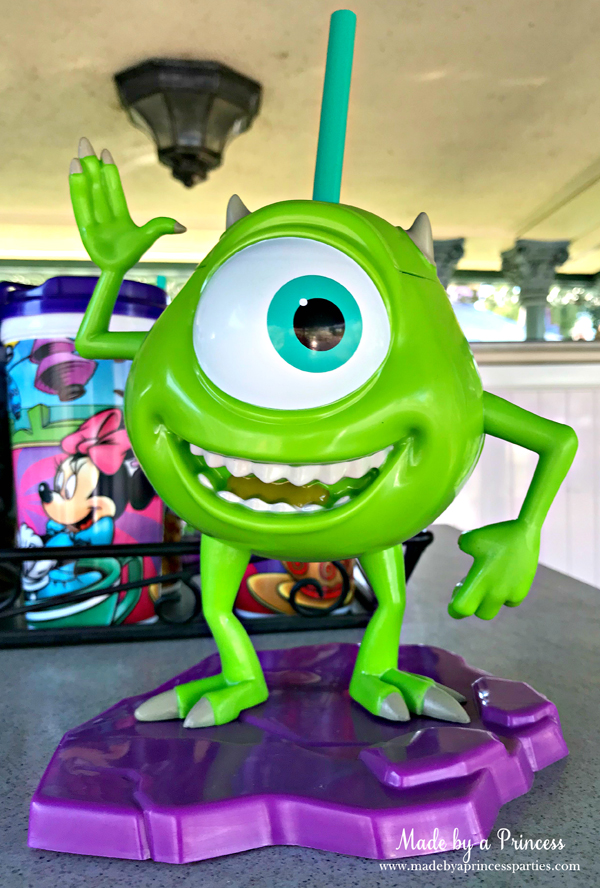 Disneylands Pixar Fest Exclusive Merchandise Mike Wazowski sipper cup #pixarfestmerchandise #disneycup #pixarfest #madebyaprincess
