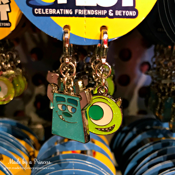 Disneylands Pixar Fest Exclusive Merchandise Sulley and Mike Charms #pixarfestmerchandise #disneycharms #pixarfest #madebyaprincess