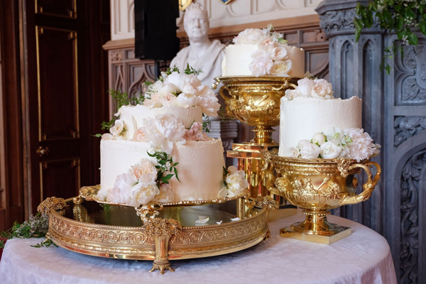 Prince Harry Meghan Markle Royal Wedding Cake Lemon Elderflower