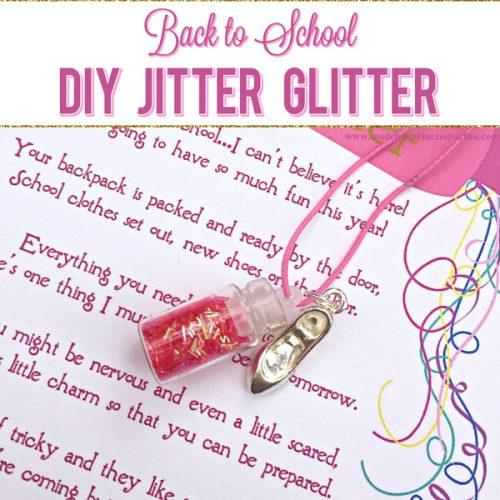 Back to School Mommy Magic Jitter Glitter DIY your own jitter glitter charm bracelet