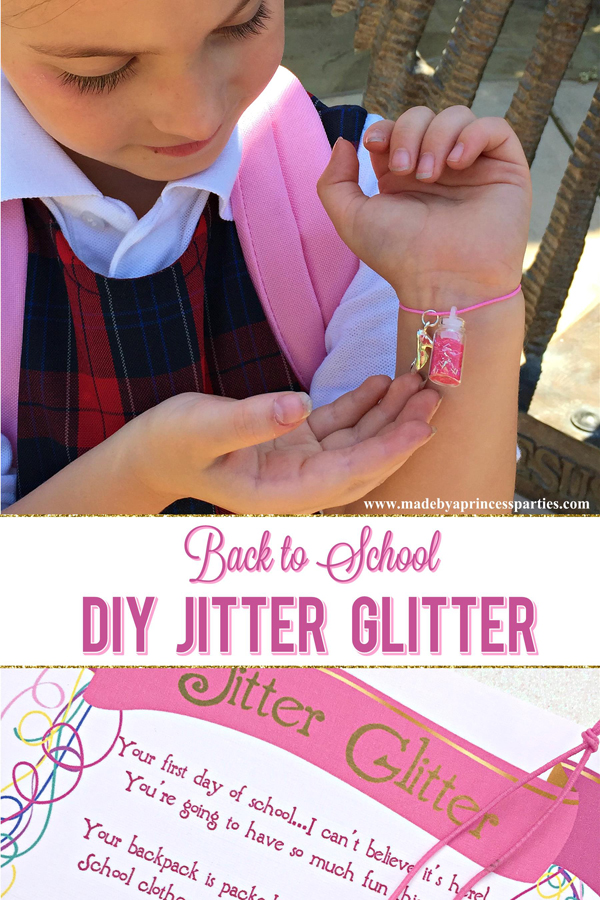 graphic relating to Jitter Glitter Poem Printable named Back again toward College Mommy Magic Jitter Glitter Card FREEBIE