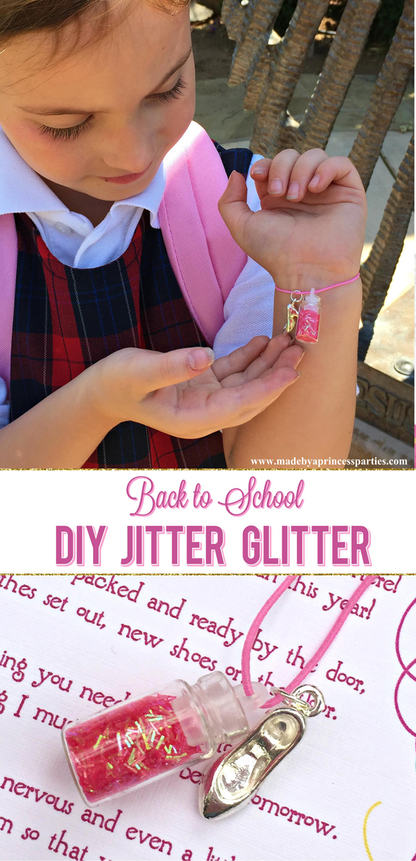 Make your own Back to School Mommy Magic Jitter Glitter in minutes