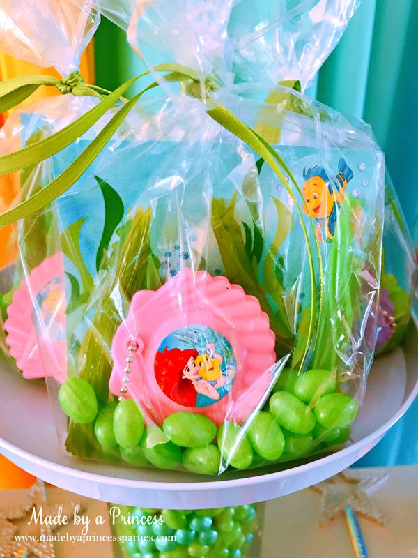 Disney Princess Party Ideas Little Mermaid Ariel Party Favor