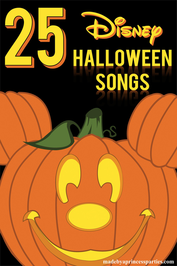 25 Disney Halloween songs you need for your kids Halloween party
