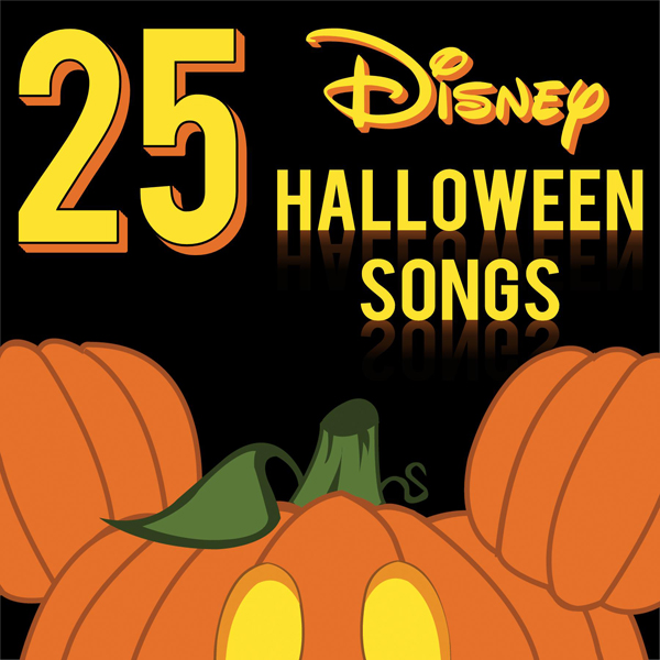 Top 25 Disney Halloween Party Songs - Made by a Princess