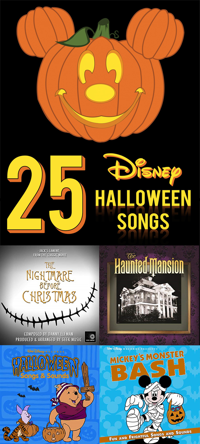 25 Disney Halloween songs you need to download for your next kids Halloween party