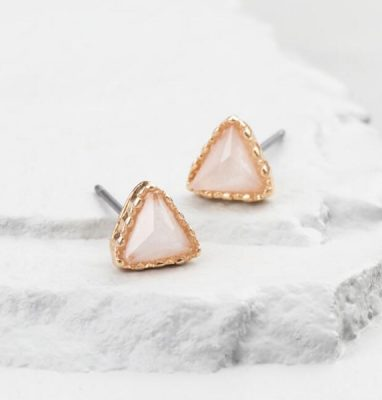 Golden Holiday Entertaining Essentials gold opal earrings
