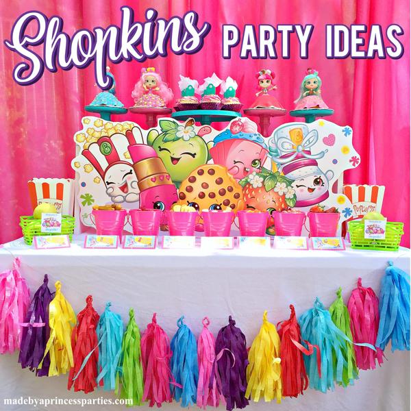 Adorable Shopkins Birthday Party Ideas