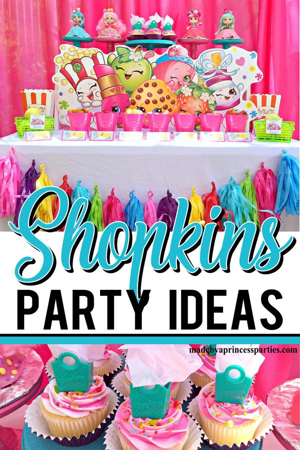 Stupendous Shopkins Birthday Party Ideas Made By A Princess Funny Birthday Cards Online Benoljebrpdamsfinfo