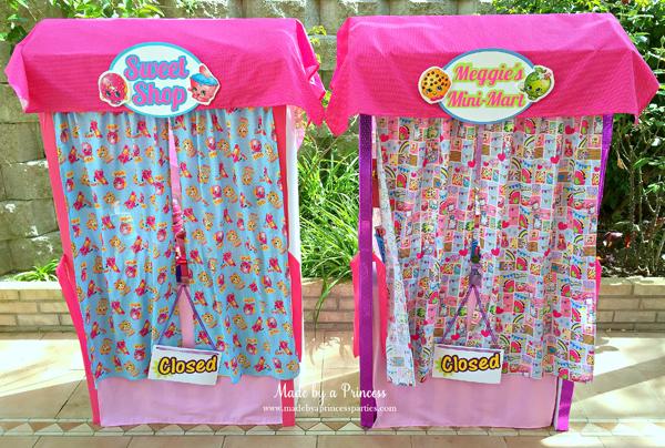 Shopkins Birthday Party Ideas - Made by A Princess