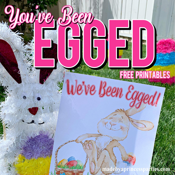 image relating to You Ve Been Egged Printable named Youve Been Egged Poem Printable Easter Game - Designed by way of A