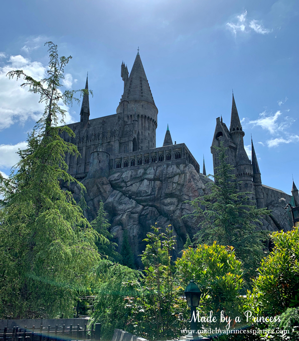 Enter Hogwarts Castle to ride Harry Potter and the Forbidden Journey