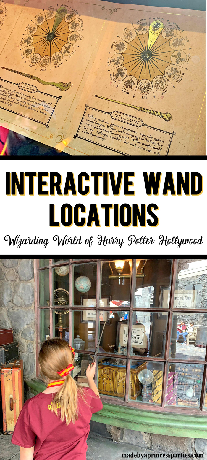 Everything you need to know about Harry Potter Interactive Wands in Wizarding World Hollywood