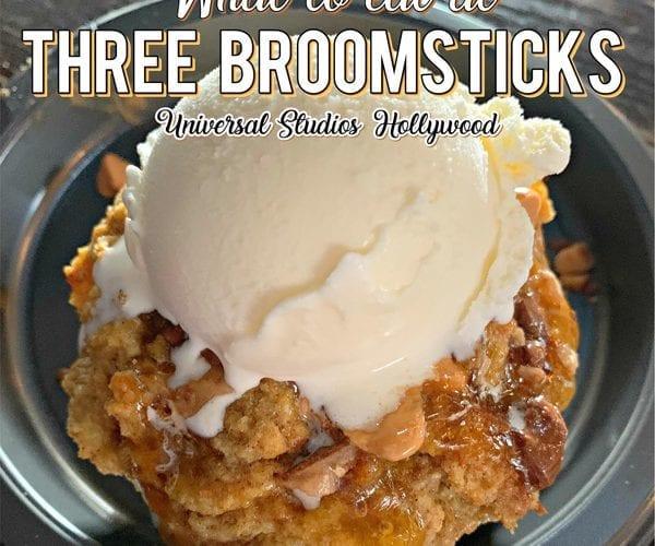 Three Broomsticks Hollywood Menu