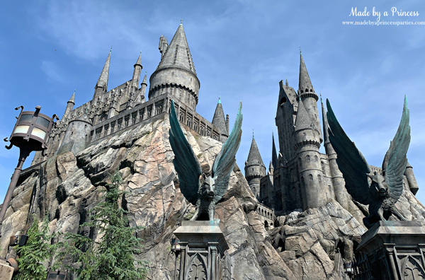 Universal Studios Hollywood Harry Potter Forbidden Journey Hogwarts castle outside