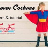 How to Make a Supergirl Costume Tutorial