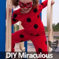 DIY Miraculous Ladybug Costume With Reversible Mask