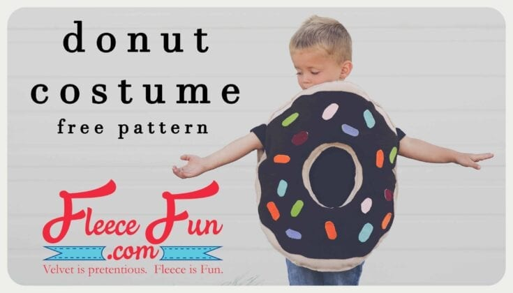 Easy Donut Costume DIY