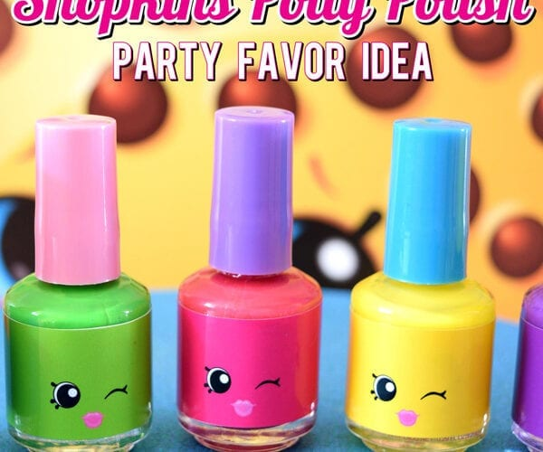 Shopkins Polly Polish Party Favors