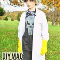 Easy DIY Mad Scientist Costume - No Sew!