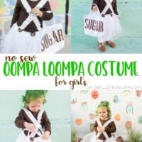 Oompa Loompa Costume for Girls
