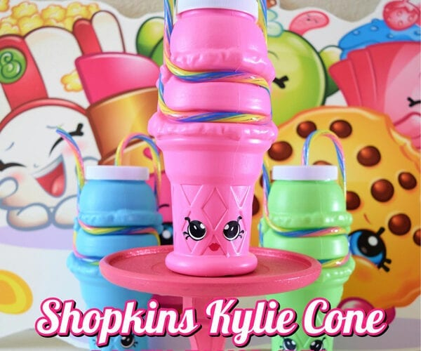 Shopkins Kylie Cone Party Favor