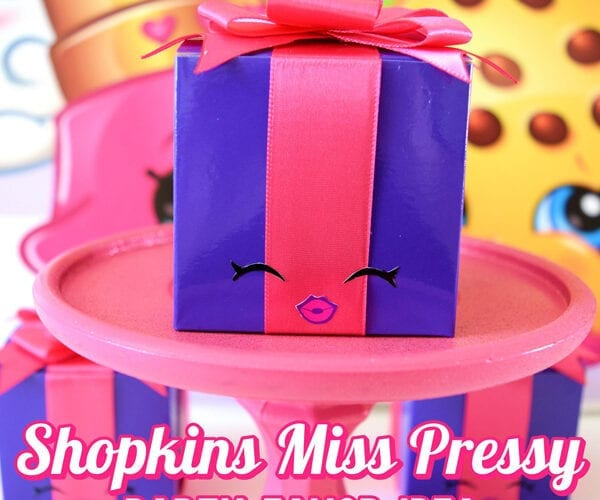 Shopkins Miss Pressy Party Favor